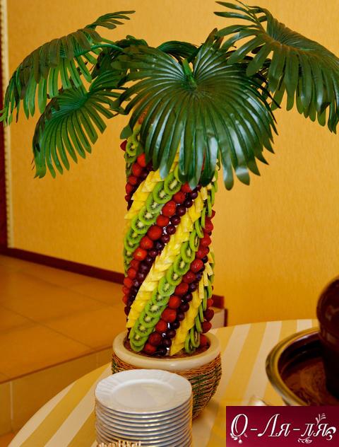 Как сделать банан для пальмы 438